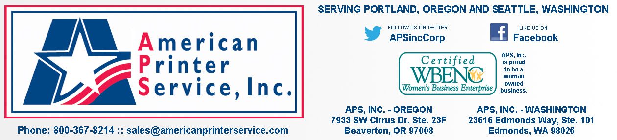 Welcome to American Printer Service, Inc.